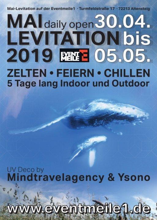 Party Flyer Mai-Levitation 30 Apr '19, 21:00