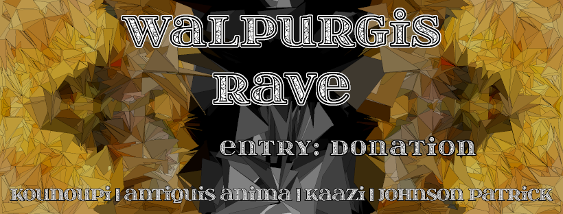 Party Flyer Walpurgisrave /w Antiquis Anima, Homunkohlus uvm. 30 Apr '19, 23:00