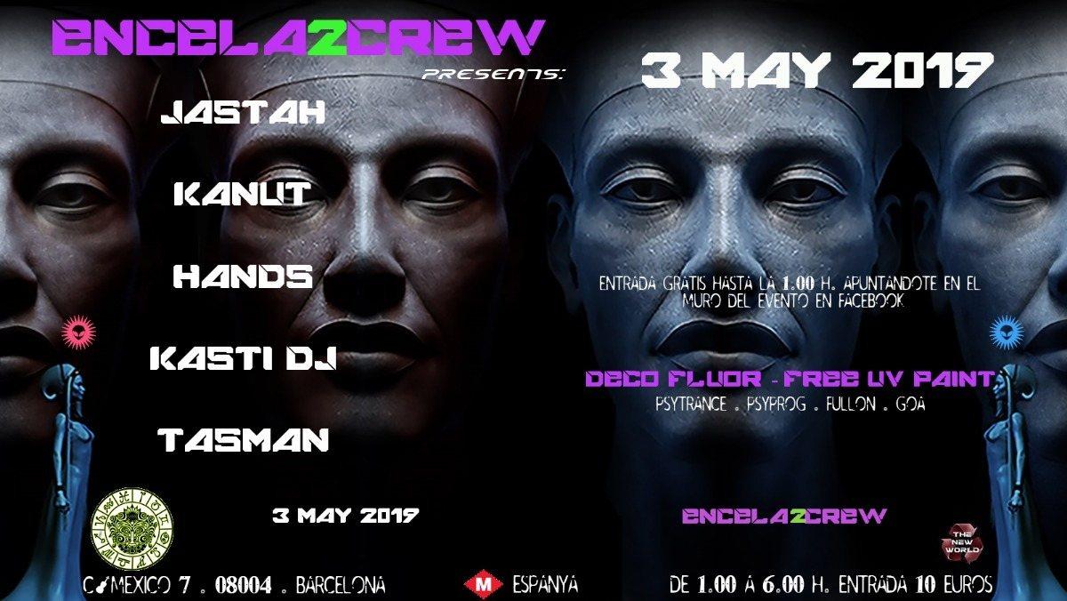 Party Flyer ENCELA2CREW PRESENTS: 3 May '19, 23:30