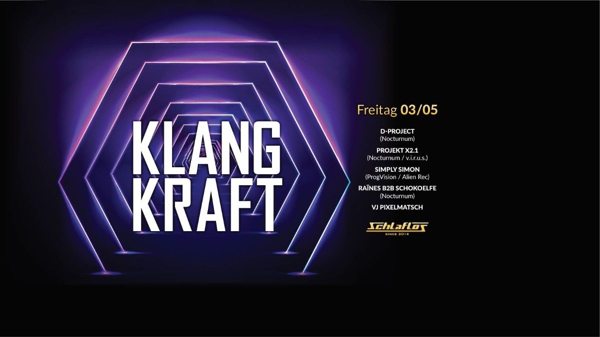 Party Flyer Klangkraft 3 May '19, 23:00