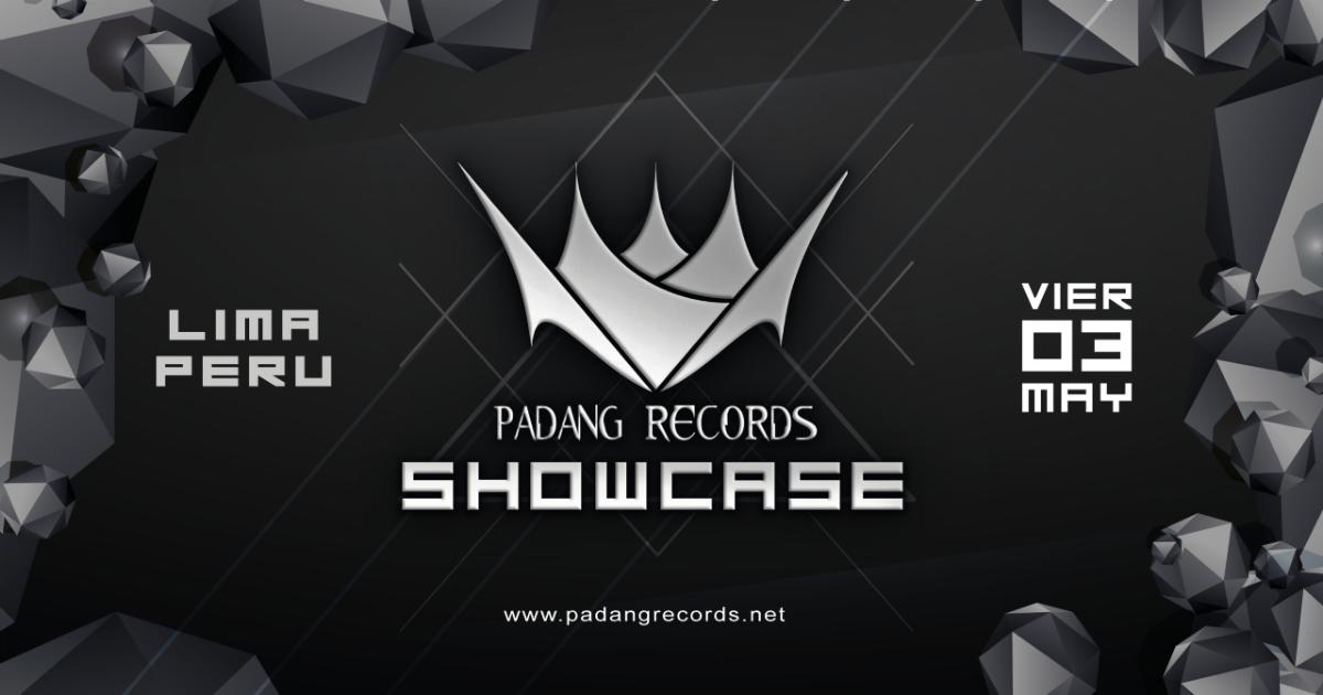 Party Flyer Padang Records Showcase 3 May '19, 22:00