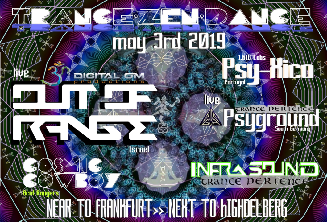 Party Flyer trance-zen - dance 2019 3 May '19, 22:00