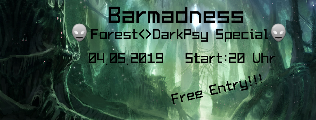 Party Flyer Synapsen Tapsen - Barmadness 4 May '19, 20:00