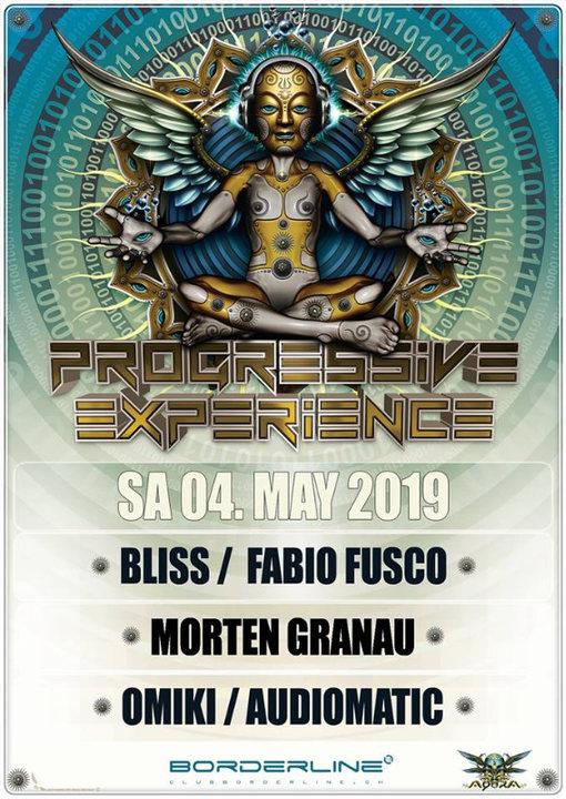 The Festival with Bliss Fabio Fusco, Morten Granau, Audiomatic, Omiki 4 May '19, 23:00