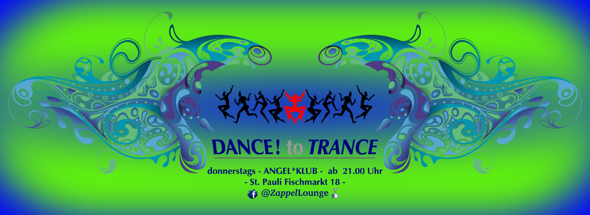 Party Flyer DANCE! to TRANCE 9 May '19, 21:00