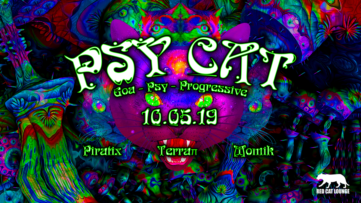 Psy Cat - Piratix / Terraπ / momik 10 May '19, 23:00