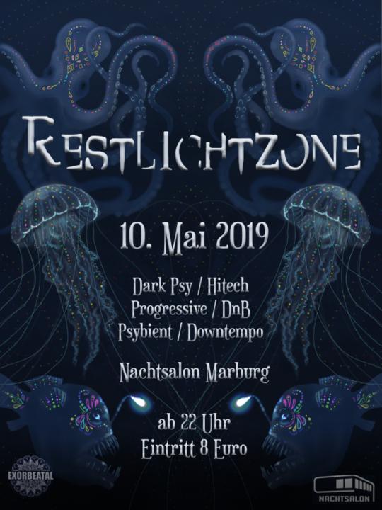 Party Flyer Restlichtzone 10 May '19, 22:00