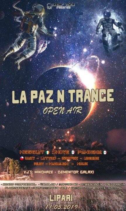 Party Flyer La Paz N Trance 2019 11 May '19, 18:00