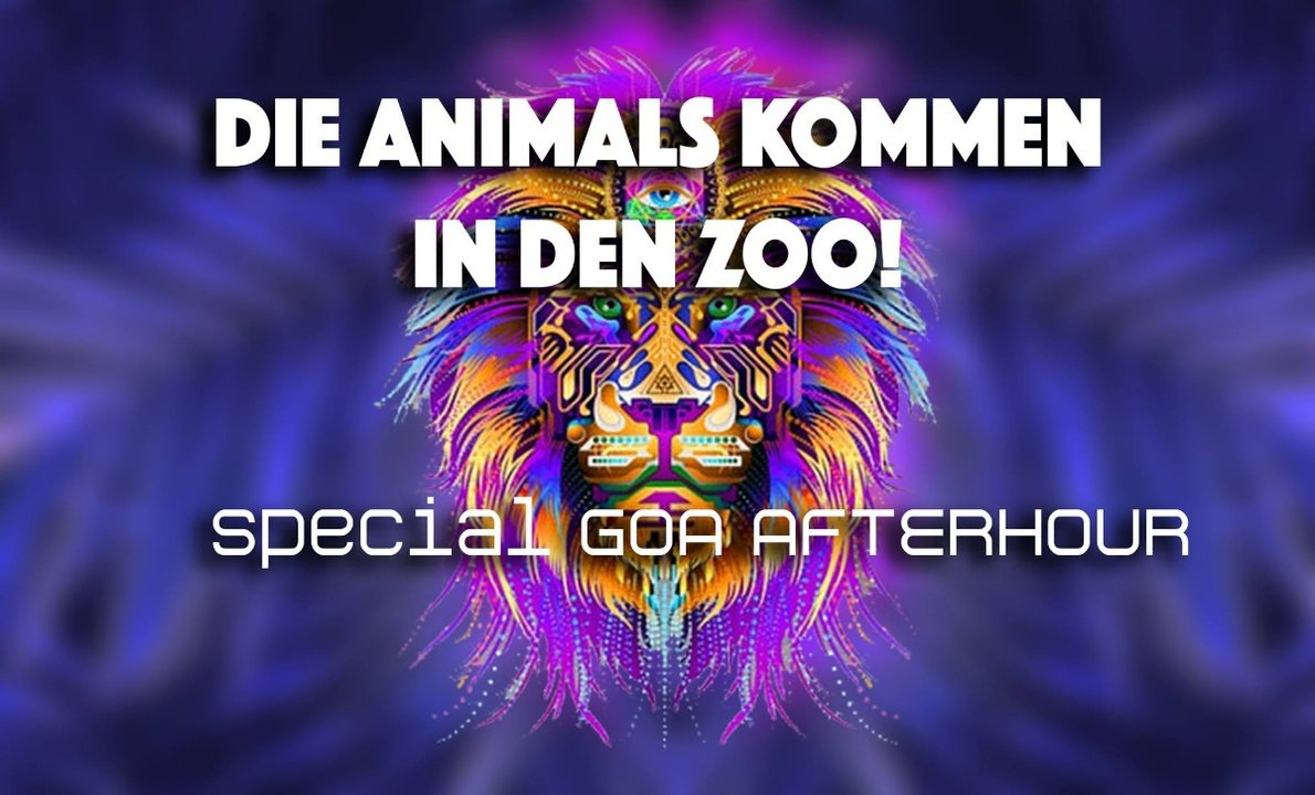 Party Flyer ★ Special Animals Goa ★ Sunday Afterhour 12 May '19, 06:00