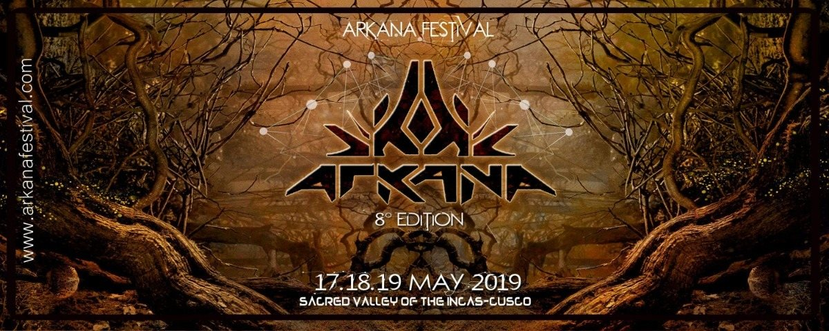 Party Flyer Arkana festival 2019 17 May '19, 16:00