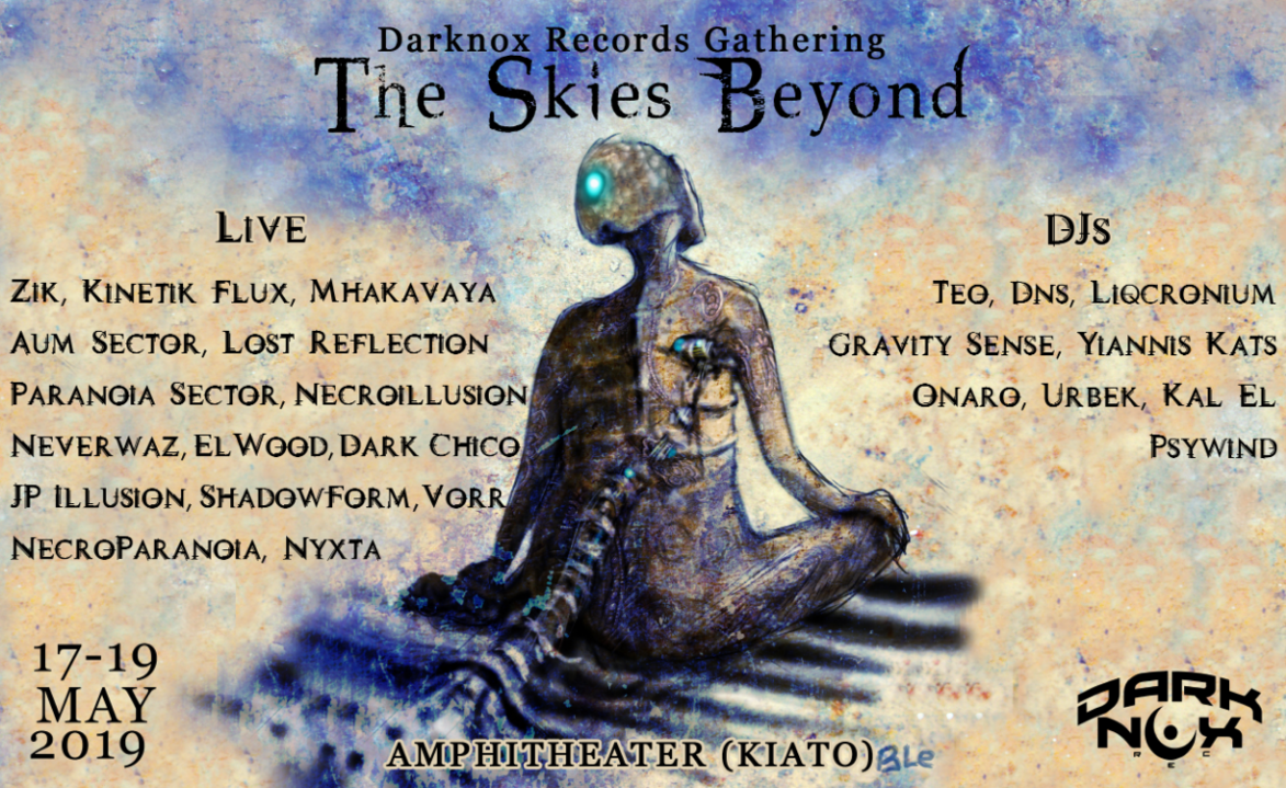 Party Flyer Darknox Records Label Gathering (II) - The Skies Beyond 17 May '19, 19:00
