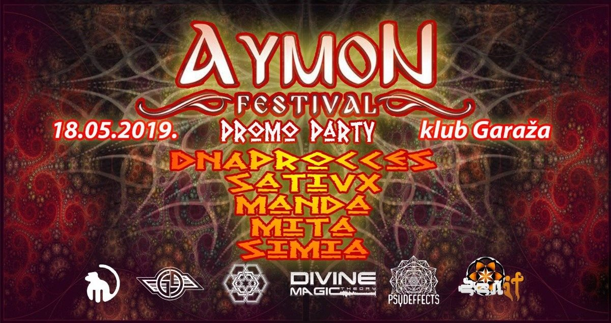 Aymon Festival promo party 18 May '19, 22:00