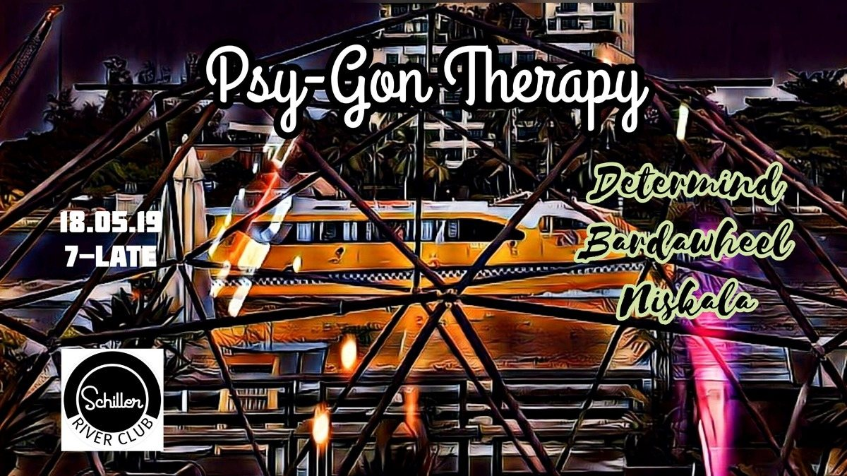 Party Flyer Psy-gon Therapy 18 May '19, 19:00