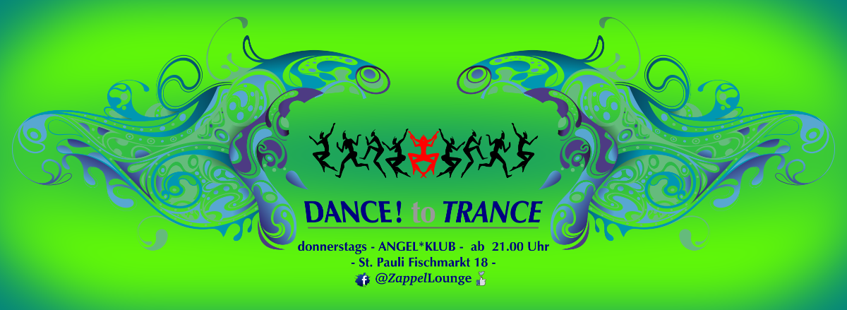 Party Flyer DANCE! to TRANCE 23 May '19, 21:00