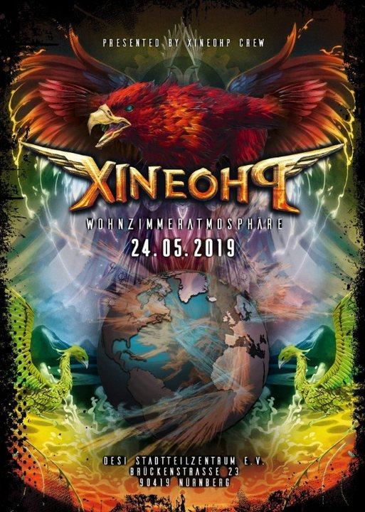 Party Flyer Wohnzimmeratmosphäre by Xineohp 24 May '19, 22:00