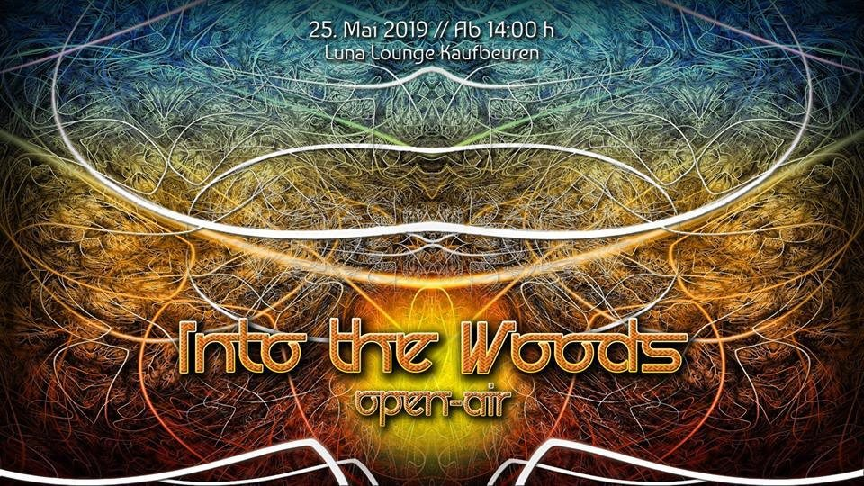 Party Flyer Into The Woods / open-air 25 May '19, 14:00