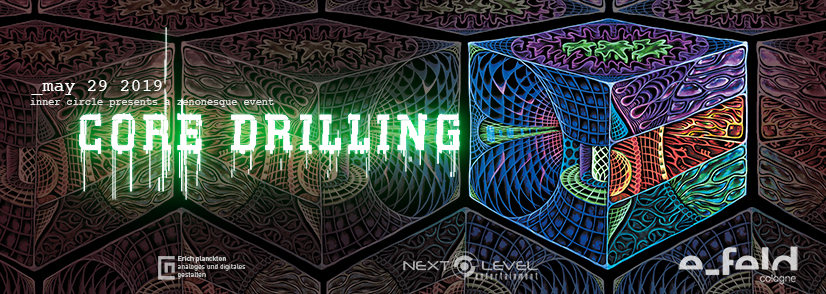 Party Flyer Inner Circle - Core Drilling 29 May '19, 22:00