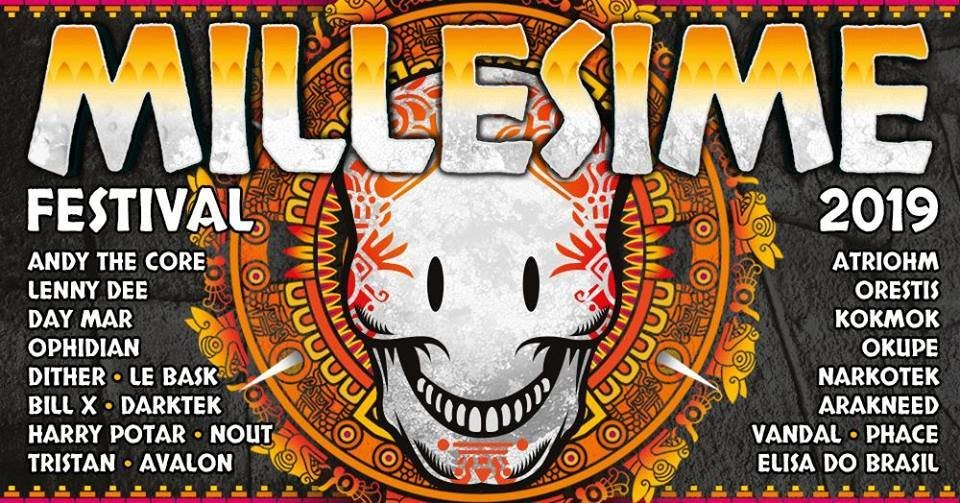 Party Flyer Millésime festival 31 May '19, 18:00