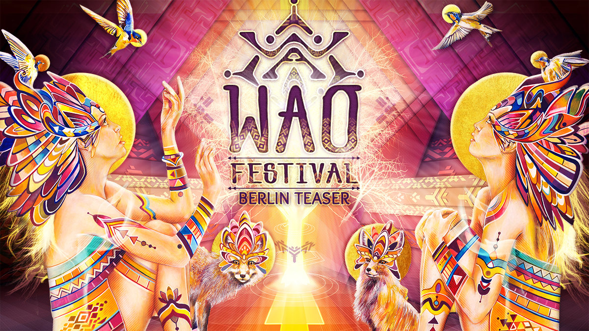 Party Flyer WAO Festival Teaser Berlin 31 May '19, 23:00