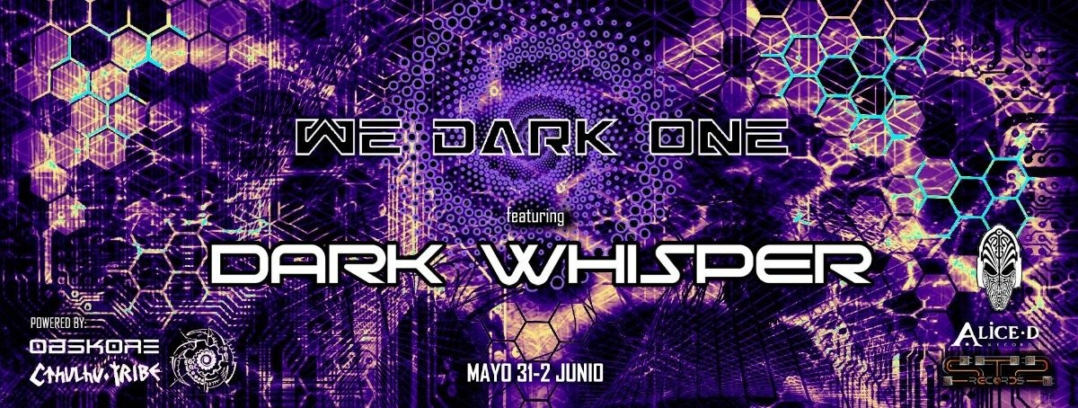 Party Flyer We Dark One 31 May '19, 22:00