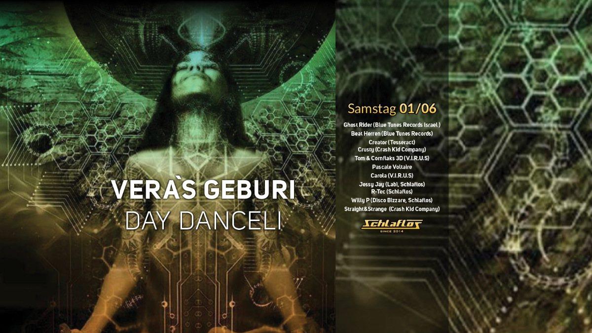 Party Flyer Day DanceLi mit Ghost Rider 1 Jun '19, 14:00