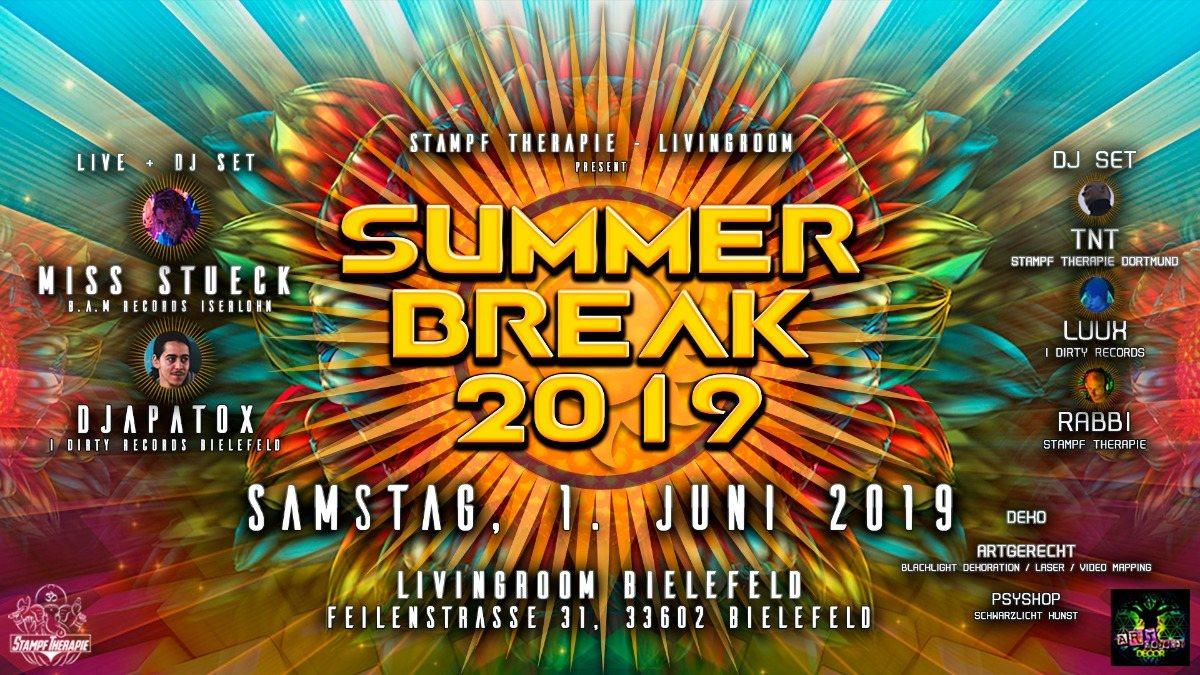Party Flyer Summer Break 2019 1 Jun '19, 22:00