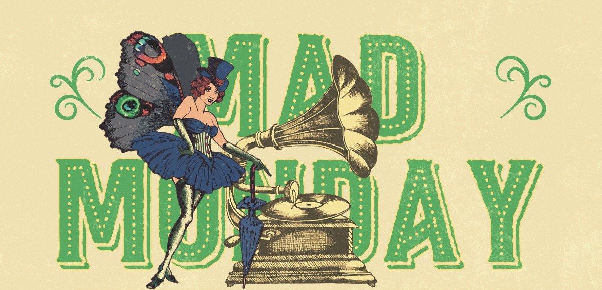 Party Flyer Mad Monday • presents Organic Live Art Records Showcase 3 Jun '19, 23:00