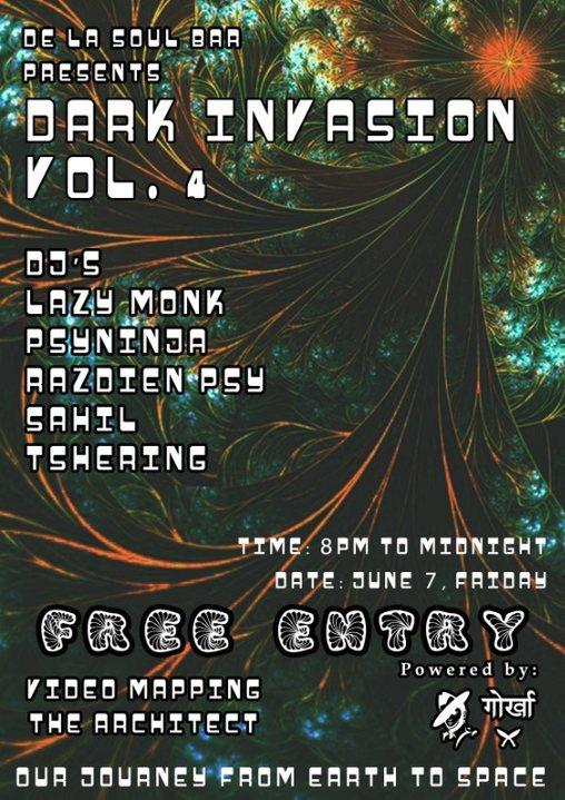 Party Flyer Dark Invasion Vol. 4 7 Jun '19, 20:00