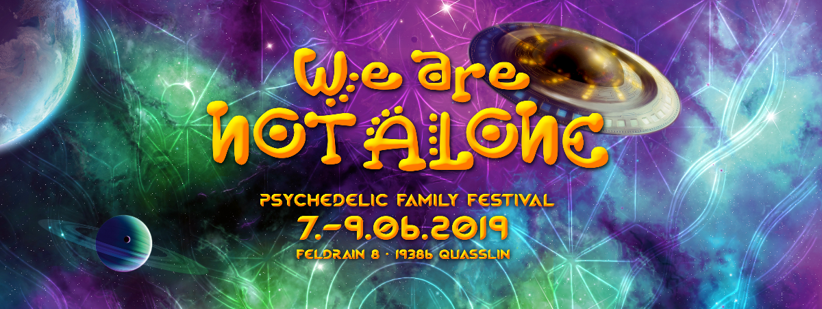 Party Flyer Cancelled - We are not Alone - Cancelled 7 Jun '19, 18:00