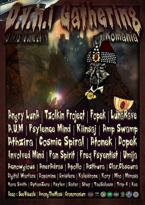Party Flyer OVNI Gathering ☼ Romania 13 Jun '19, 22:00