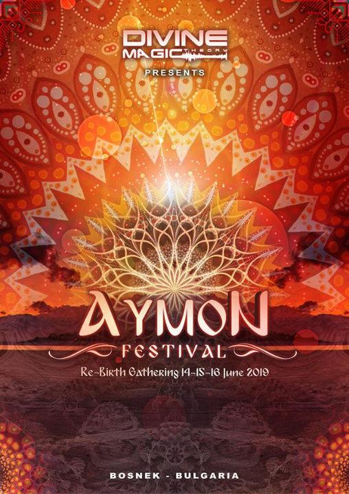 Party Flyer AYMON FESTIVAL 14 Jun '19, 20:00