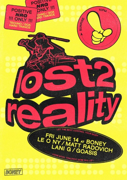 Party Flyer Lost 2 Reality 14 Jun '19, 22:00