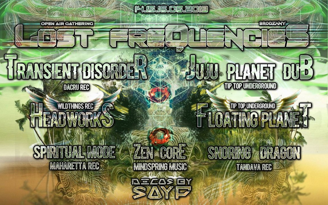 Party Flyer LOST FREQUENCIES:Open Air Gathering 2019 14 Jun '19, 20:00