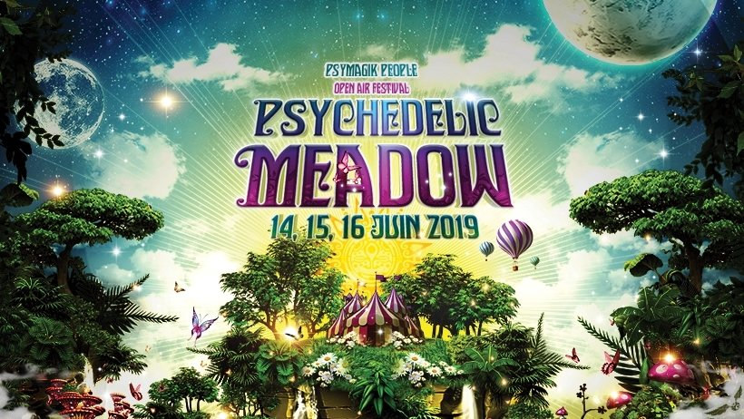 Party Flyer Psychedelic Meadow 14 Jun '19, 20:00