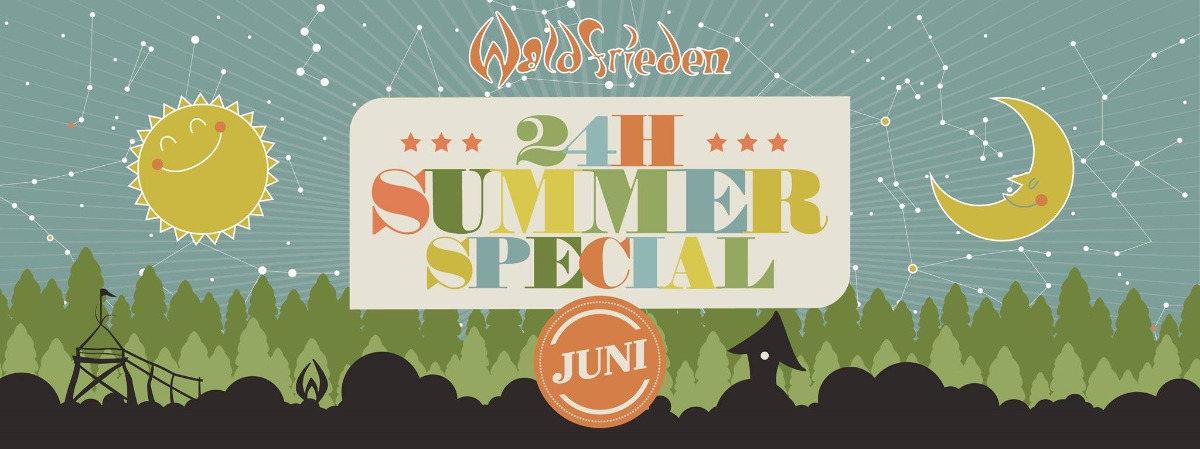 24H Summer Special Juni 15 Jun '19, 14:00
