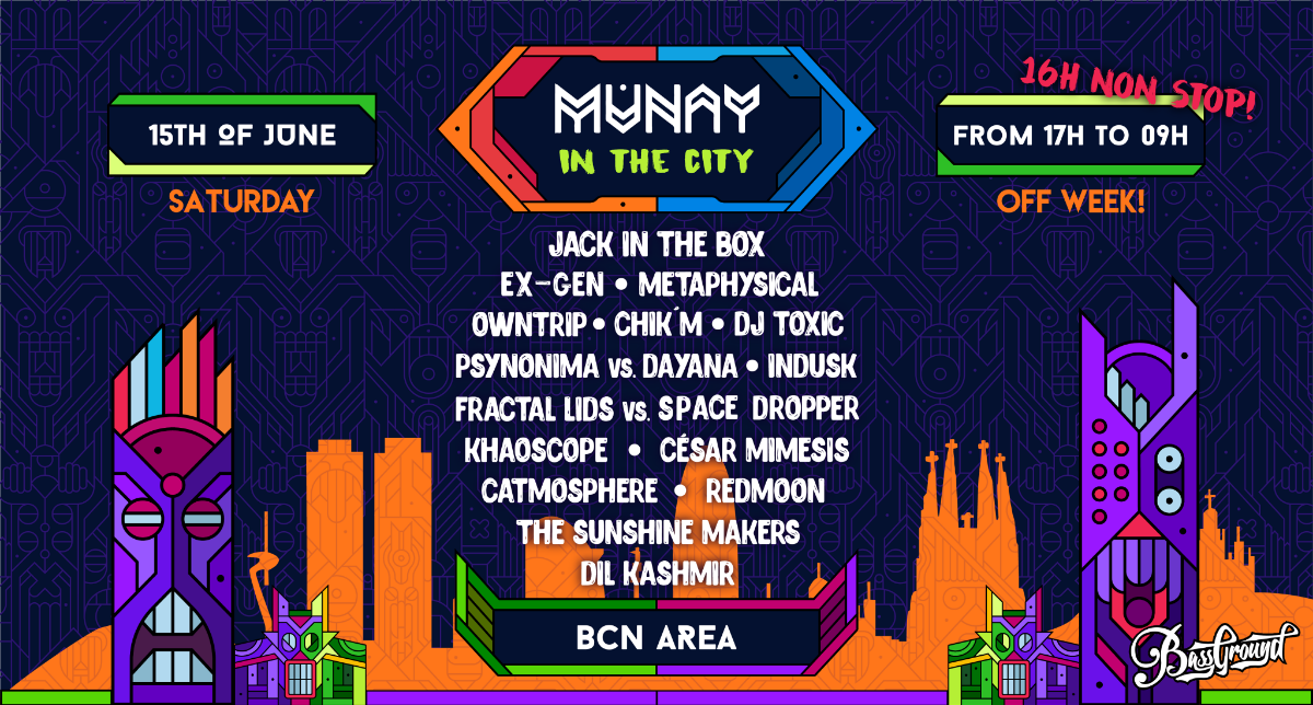 MUNAY in the City - OffWeek 2019 15 Jun '19, 17:00