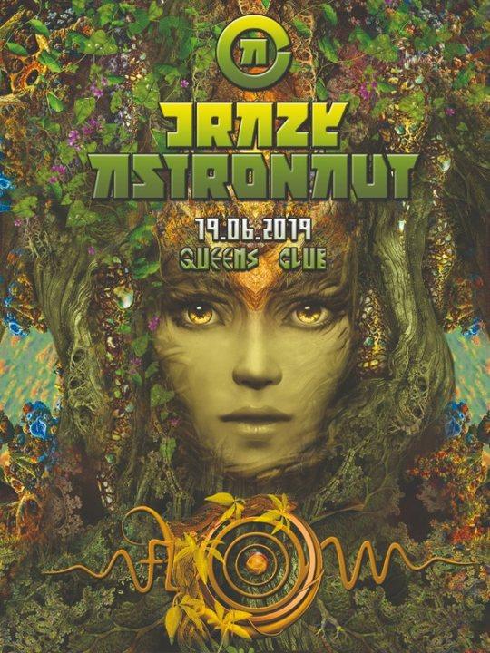 Party Flyer Psybox - Flow Festival Pre Event with Crazy Astronaut 19 Jun '19, 22:00