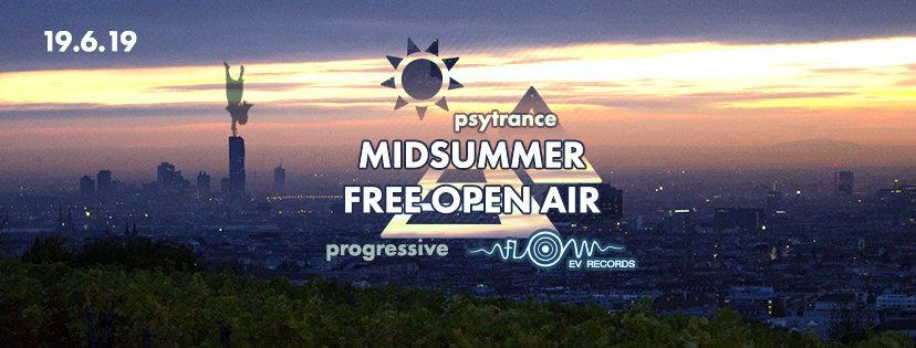 Party Flyer Zero Gravity´s Midsummer Free Open Air 19 Jun '19, 19:00