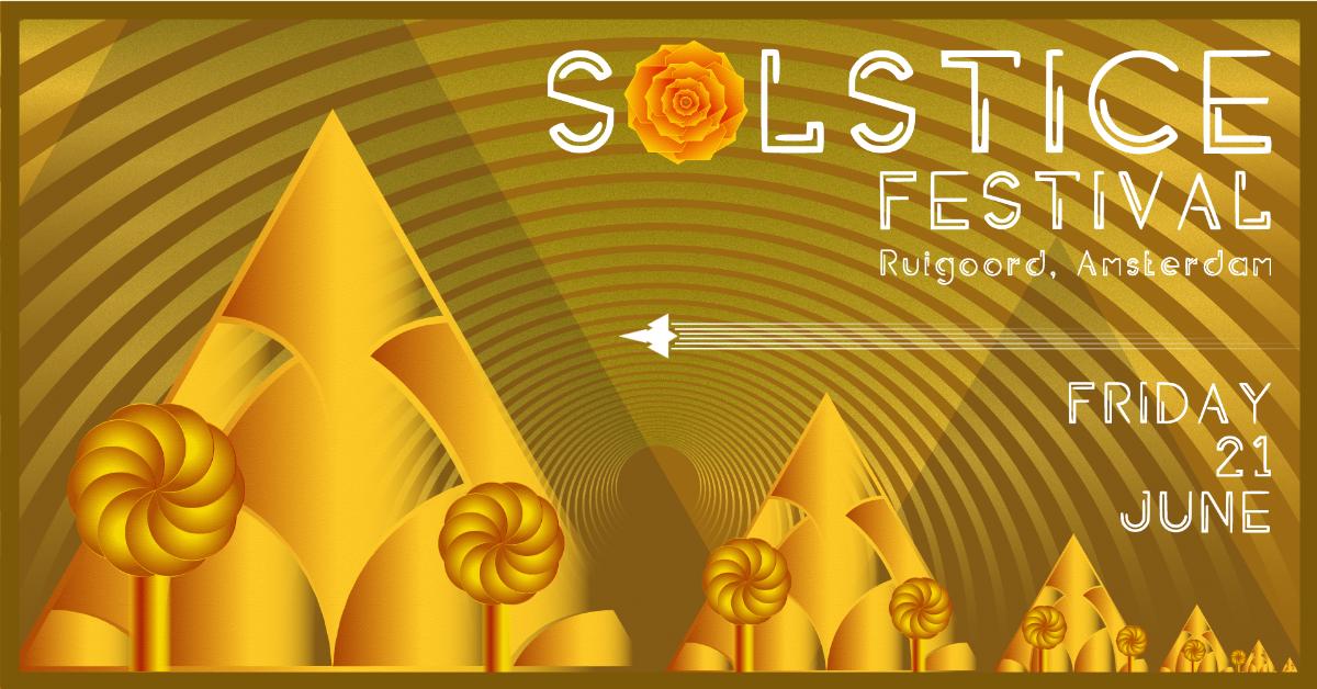 Party Flyer ☼ SOLSTICE FESTIVAL 2019 ☼ 21 Jun '19, 11:00
