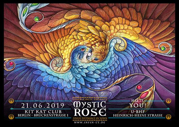 Party Flyer The Mystic Rose 21 Jun '19, 23:00