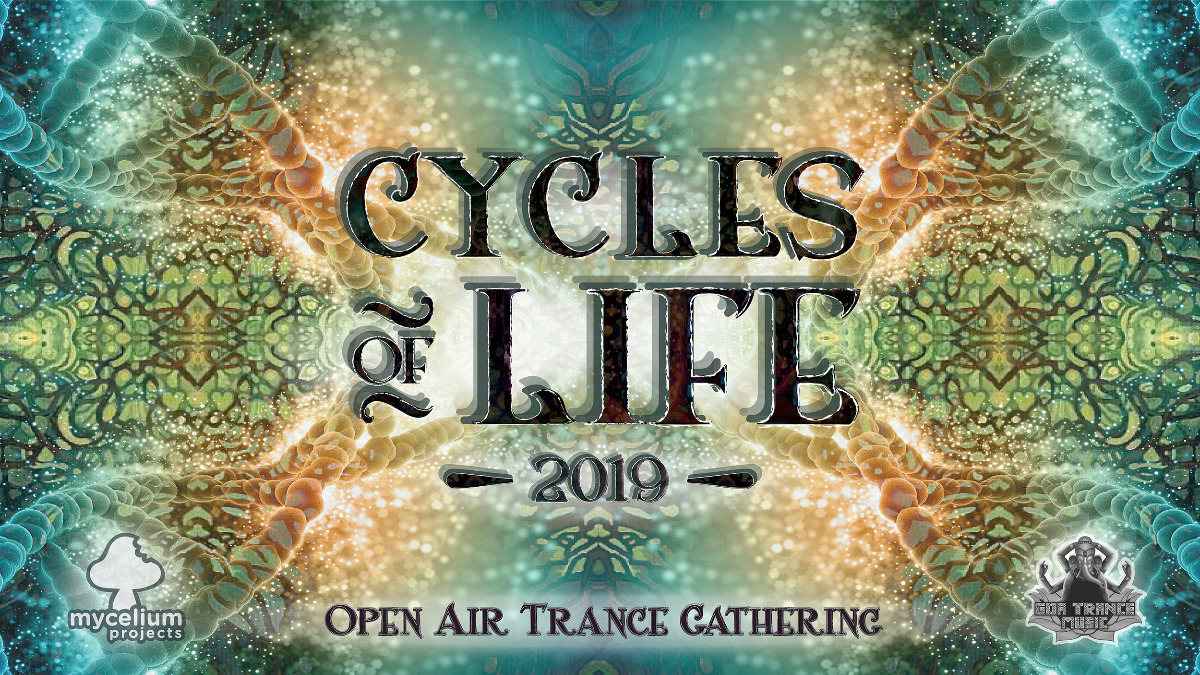 Party Flyer Cycles Of Life 2019 (Daytime Festival) 22 Jun '19, 10:00