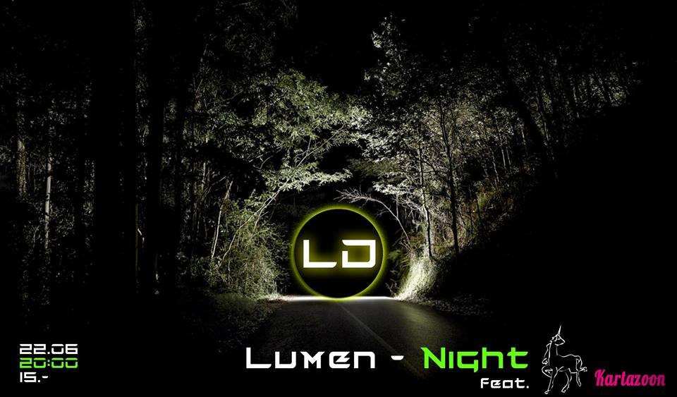Party Flyer Lumen-Night 22 Jun '19, 20:00