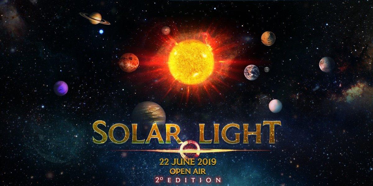 Party Flyer Solar Light 2019 Open Air 22 Jun '19, 18:00