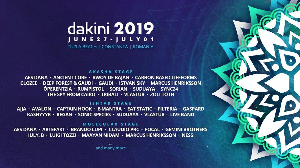 Party Flyer Dakini Festival 3rd Edition 27 Jun '19, 18:00