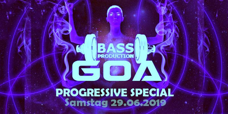 Party Flyer Bassproduction Goa - Progressive Special 29 Jun '19, 22:00