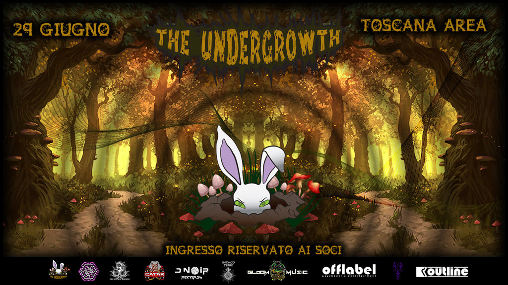 Party Flyer The Undergrowth 29 Jun '19, 19:00