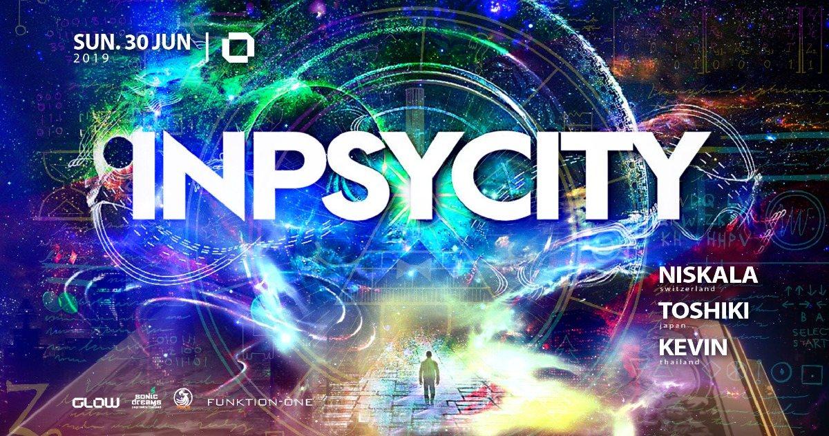 Party Flyer Inpsycity 30 Jun '19, 21:30