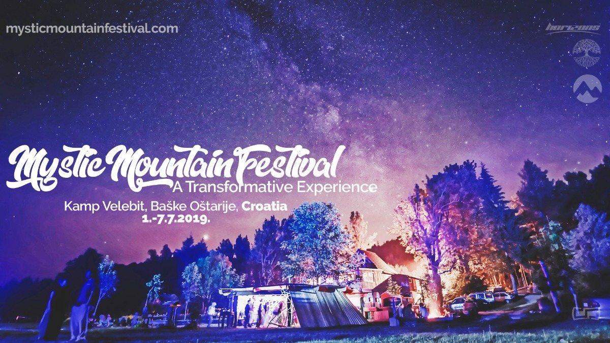 Party Flyer Mystic Mountain Festival 1 Jul '19, 11:00