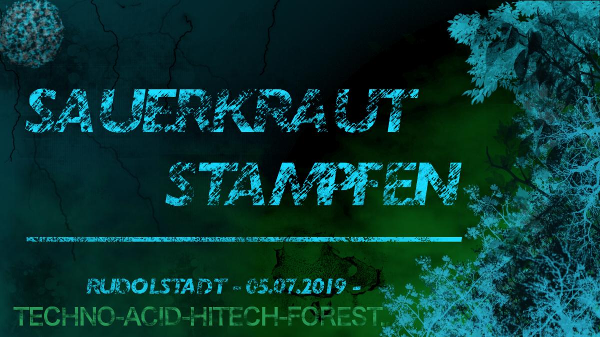 Party Flyer NiwiKK präsentiert >> SAUERKRAUTSTAMPFEN << 5 Jul '19, 23:00