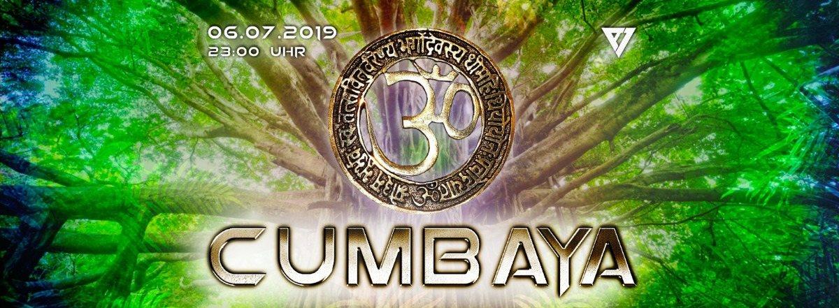 Party Flyer ૐ Cumbaya ૐ 6 Jul '19, 23:00